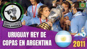 URUGUAY CAMPEON COPA AMÉRICA ARGENTINA 2011