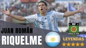Juan Roman Riquelme Leyenda