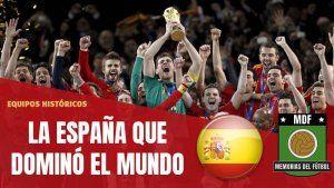 ESPANA TIKITAKA 2008 2012