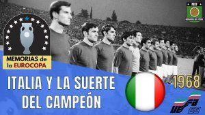 ITALIA campeona Euro 1968