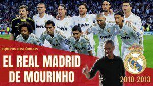 El Real Madrid de Mourinho 2010-2013