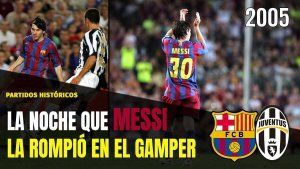 Messi Gamper 2005