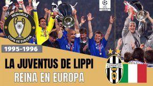Juventus Campeón Champions League 1995-1996