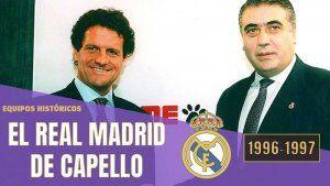 El Real Madrid de Capello 1996 1997