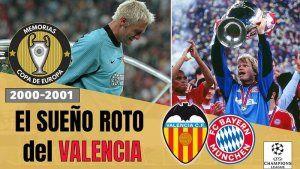 Valencia Bayern Champions 2001