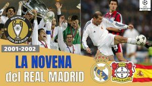 La Novena Copa de Europa del Real Madrid