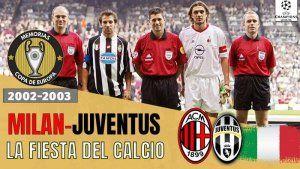 Champions League 2002-2003 Milan campeón