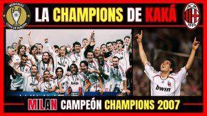 Milan campeon Champions League 2006-2007