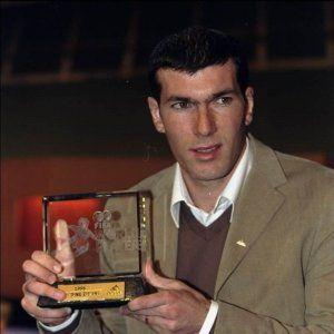 fifa world player zidane 1998