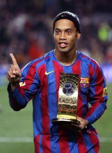 ronaldinho fifa world player 2005