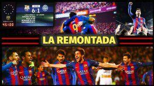 La Remontada del Barcelona al PSG (6-1)