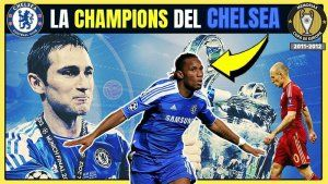 Chelsea Campeón Champions 2012