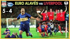 Alaves vs Liverpool UEFA 2001