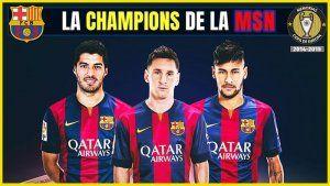 Barcelona Campeon Champions 2015