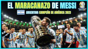 ARGENTINA CAMPEON COPA AMERICA 2021
