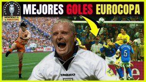 MEJORES 10 GOLES HISTORIA eurocopa