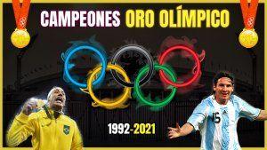 Campeones Oro Olímpico Futbol